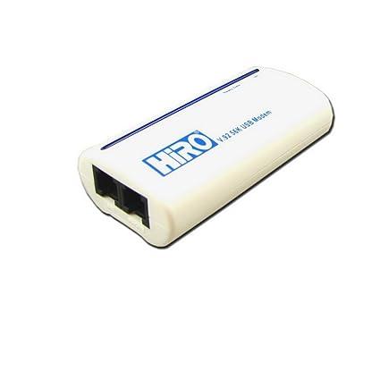HIRO V.92 56K USB MODEM DRIVERS FOR WINDOWS MAC