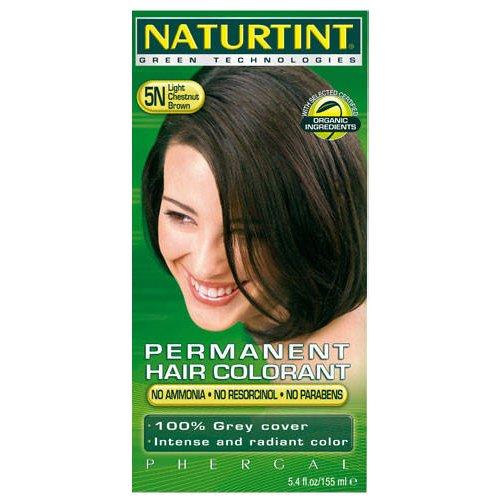 ((4 PACK) - Naturtint - Hair Dye - 5N Light Chestnut Brown | 135ml | 4 PACK BUNDLE)