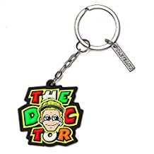 Valentino Rossi VR46 Moto GP The Doctor Cartoon Key Ring Official 2017