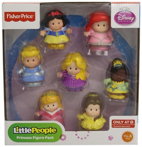 Little People Princess Figure Pack with 7 Adorable Figures