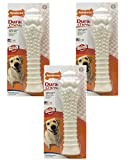 Cheap (3 Pack) Nylabone Dura Chew Souper Chicken Flavored Bone Dog Chew Toys
