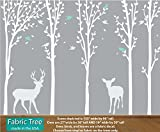 Tree Wall Art, Tree Wall Decals, Kids Wall Art, Forest