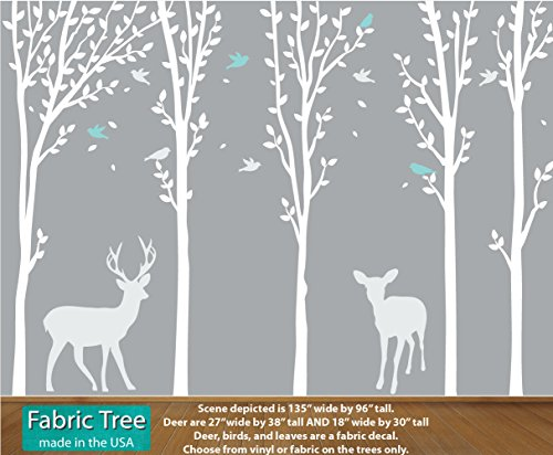 Tree Wall Art, Tree Wall Decals, Kids Wall Art, Forest by Nursery Decals and More