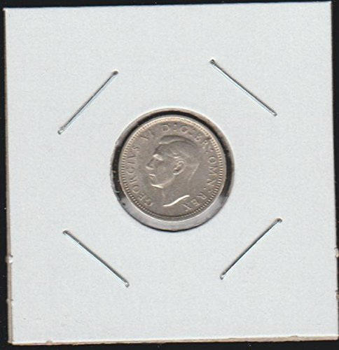 1941 UK Classic Head Left Threepence Choice Uncirculated