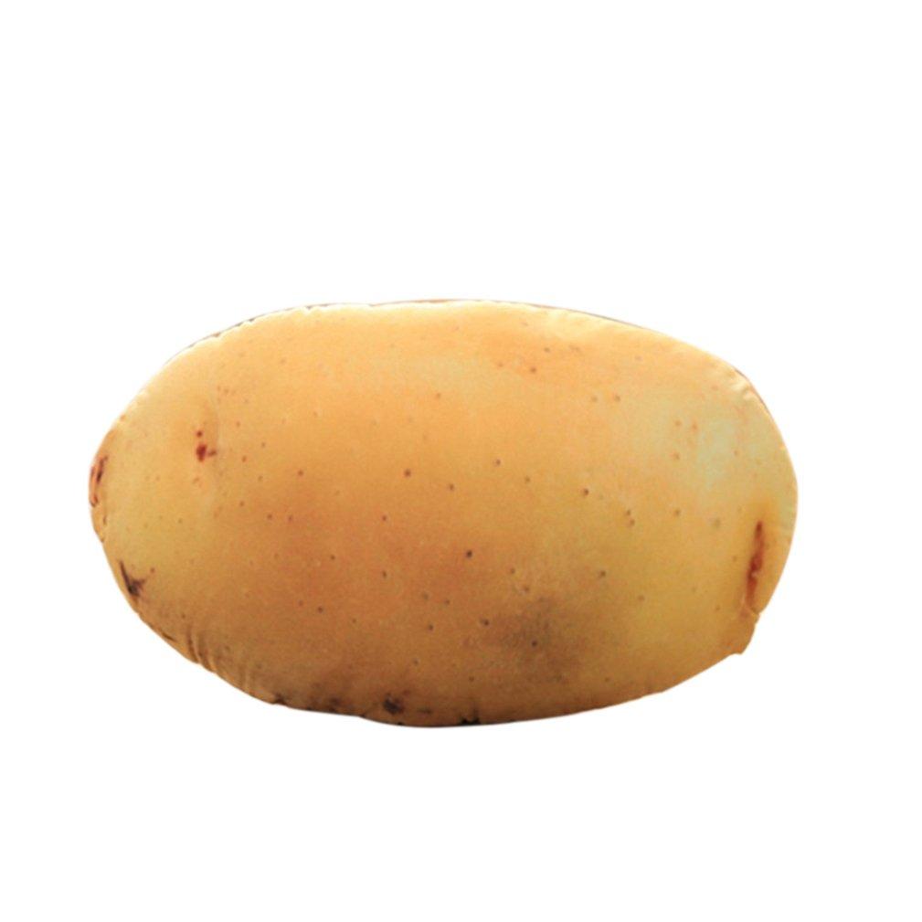 Steellwingsf Cojín de cojín de simulación de patata, broccoli, verduras, peluche, juguete de peluche, regalo para casa, oficina, ver imagen, 1