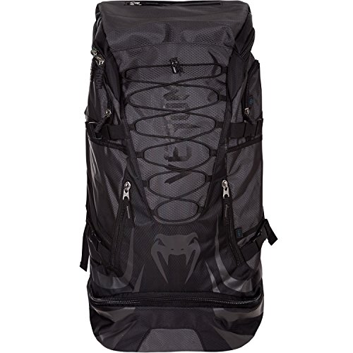 - Venum US-VENUM-2124-BLK/BLK Challenger Xtrem Backpack, One Size, Black/Black