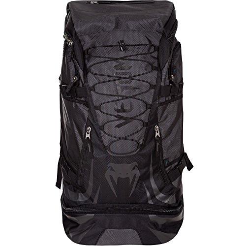 Venum US-VENUM-2124-BLK/BLK Challenger Xtrem Backpack, One Size, - Bag Gym Mesh Boxing