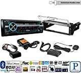 led motorcycle aux lights - Volunteer Audio Sony MEX-N5200BT Single Din Radio PAC Motorcycle Install Kit with Bluetooth, CD Player, USB/AUX Fits 1998-2013 Harley Davidson Electra, Road, Street, Tour Glide with XM Module