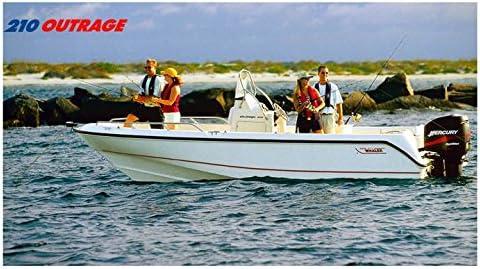 Amazon com: 2003 Boston Whaler 210 Outrage Power Boat Photo Poster