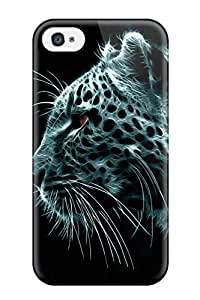 Hot Tpye Animal Tiger Case Cover For Iphone 4/4s