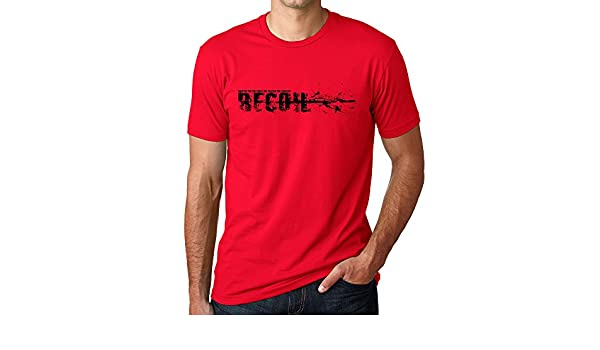 Recoil - ROE Apparel Graphic T-Shirt in RED | Amazon com