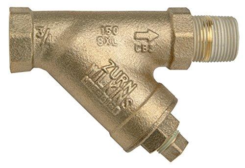 Zurn 34-SXL Lead-Free 20 Mesh Screen Strainer - Bronze Wye Strainer