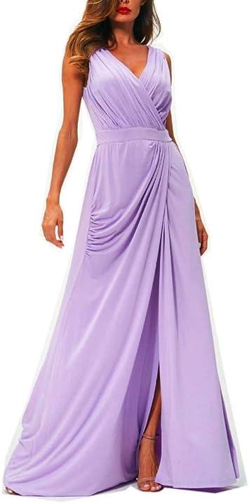 MDD@BB Verano Dama de Honor Vestir Uno,Boda Falda Larga Vestido de ...