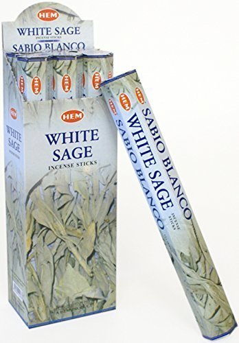Hem incense sticks 20 in a pack White Sage fragrance scent 7.42875E+11
