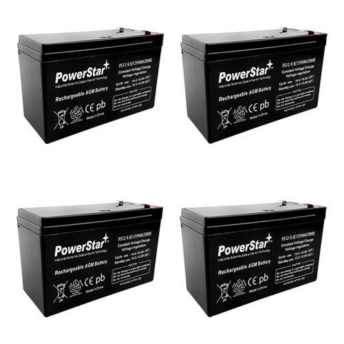 (PowerStar- 3YR Warranty RBC24 APC RBC24 Replacement KIT for APC SU1400RM2U SUA1500RM2U)