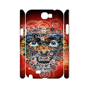 Samsung Galaxy Note 2 N7100 Eyes 3D Art Print Design Phone Back Case DIY Hard Shell Protection FG088253