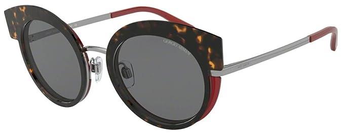 Armani GIORGIO 0AR6091 Gafas de sol, Gunmetal/Top Havana ...