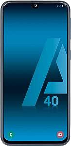 "Samsung Galaxy A40 - Smartphone de 5.9"" FHD+ sAmoled Infinity U Display (4 GB RAM, 64 GB ROM, 16 MP, Exynos 7904, Carga rápida), Negro [versión española]"