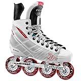 Tour Hockey BoneLite 500 Inline Hockey Skate, White, 3