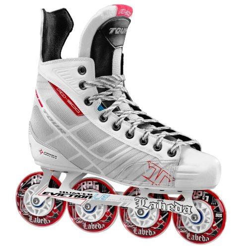 Review Tour Hockey BoneLite 500 Inline Hockey Skate, White, 3