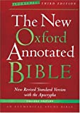 The New Oxford Annotated Bible with the Apocrypha, Augmented Third Edition, New Revised Standard Version, , 0195288823