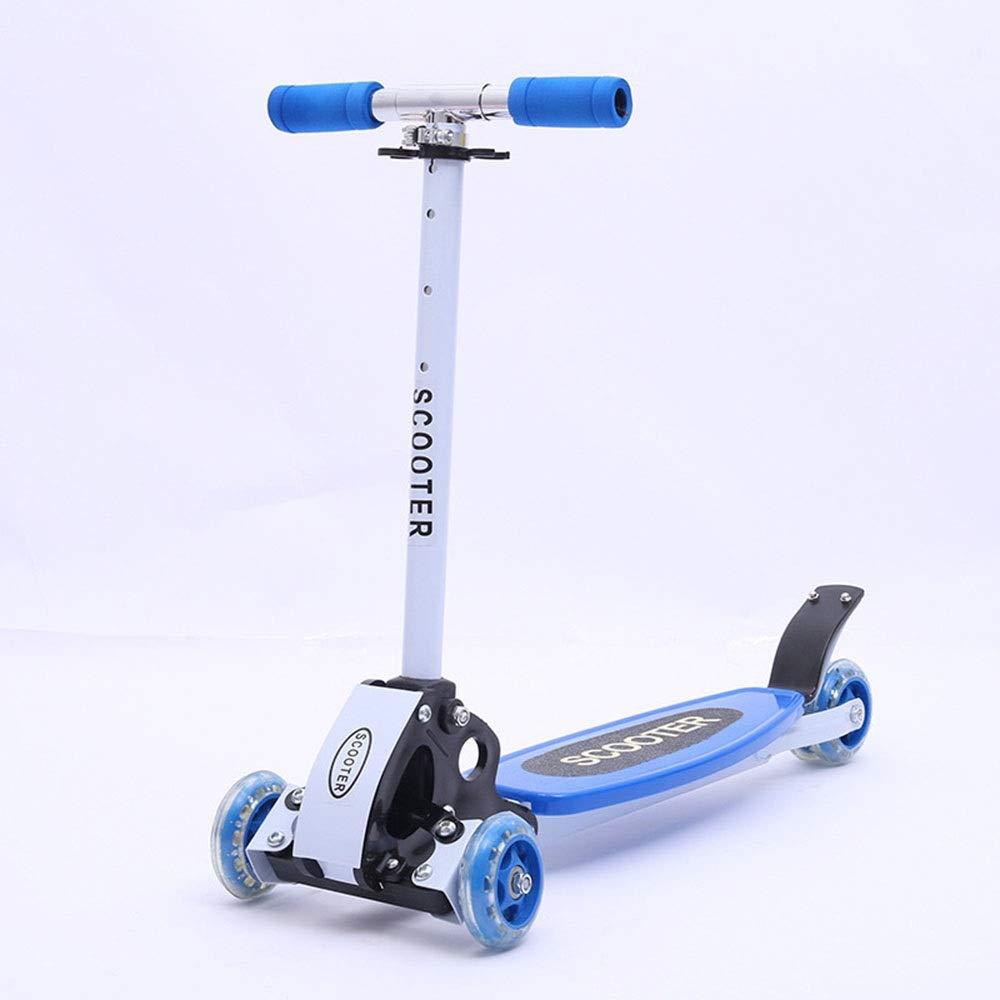 子供のスクーター三輪スクータースクーター三輪スケーター子供のおもちゃ誕生日プレゼント ( Color : Blue ) B07PSND6M1