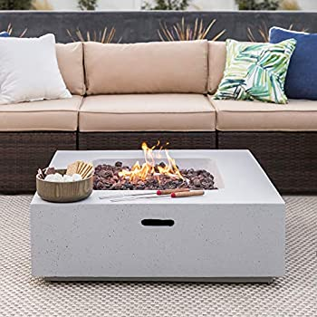 Amazon Com Barton Outdoor Propane Gas Fire Pit Patio W