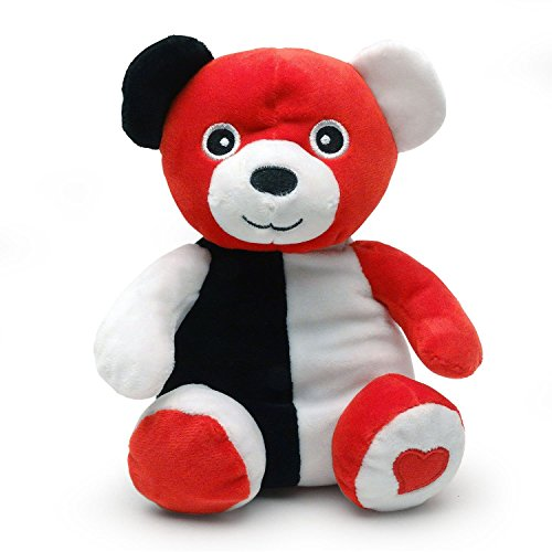 Smarty Bear - Baby's 1st Black, White and Red Teddy ()