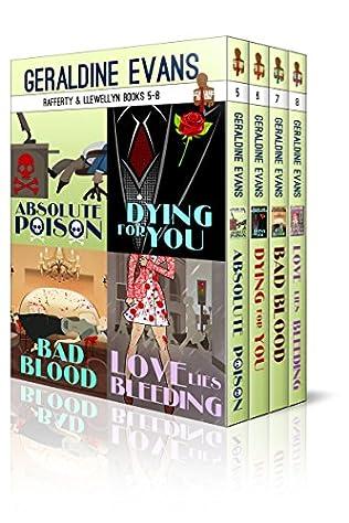 book cover of Rafferty & Llewellyn Series Box Set: Books 5 - 8
