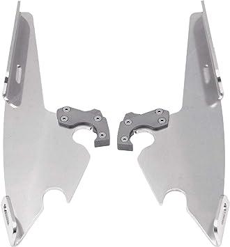 Aluminum//Sportshields 04-09 YAMAHA XVS11A Memphis Shades Trigger-Lock Mounting Kit