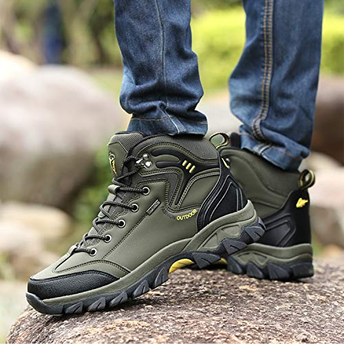 Camping Women Mountain Hiking 8 Waterproof Trekking WOWEI Sports Men Boots Style Outdoor Shoes TxRqHZA
