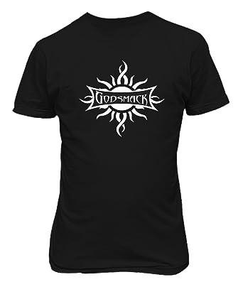 Vintage Godsmack Tour American Rock Band T-Shirt eTDJp5Ikrz