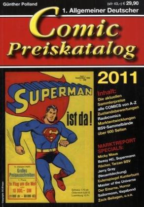 Comicpreiskatalog 2011