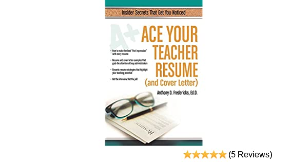 Education Resume Cover Letter from images-na.ssl-images-amazon.com