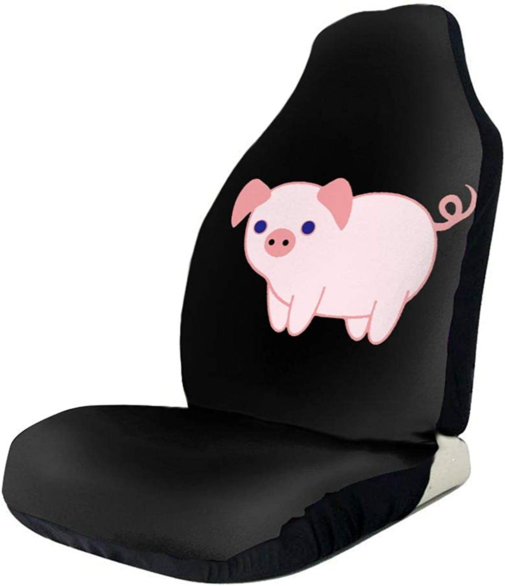 Niedlicher Cartoon Schwein Autositzbezug Set Universal Fit Die meisten Autos