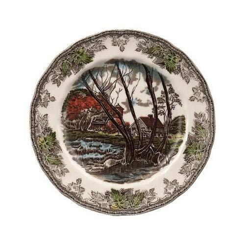 Village Dinner Plate Friendly - Friendly Village Salad Plate