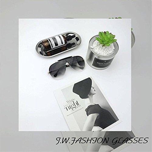Soleil UV Une Lunettes Protection Soleil Gray Grenouille De De De De Miroir Mode De Lunettes Sauvage xq6TwPwv