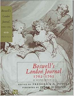 Book By James Boswell Boswell's London Journal, 1762-1763 (0002-)
