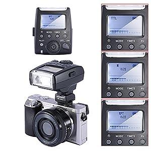 Neewer MK-300 TTL LCD Flash Speedlite for Sony A7/A7R/A7S A6000 A3000 NEX-6 NEX-7 A33 A35 A37 A57 A58 A77 A77II A99 Cameras