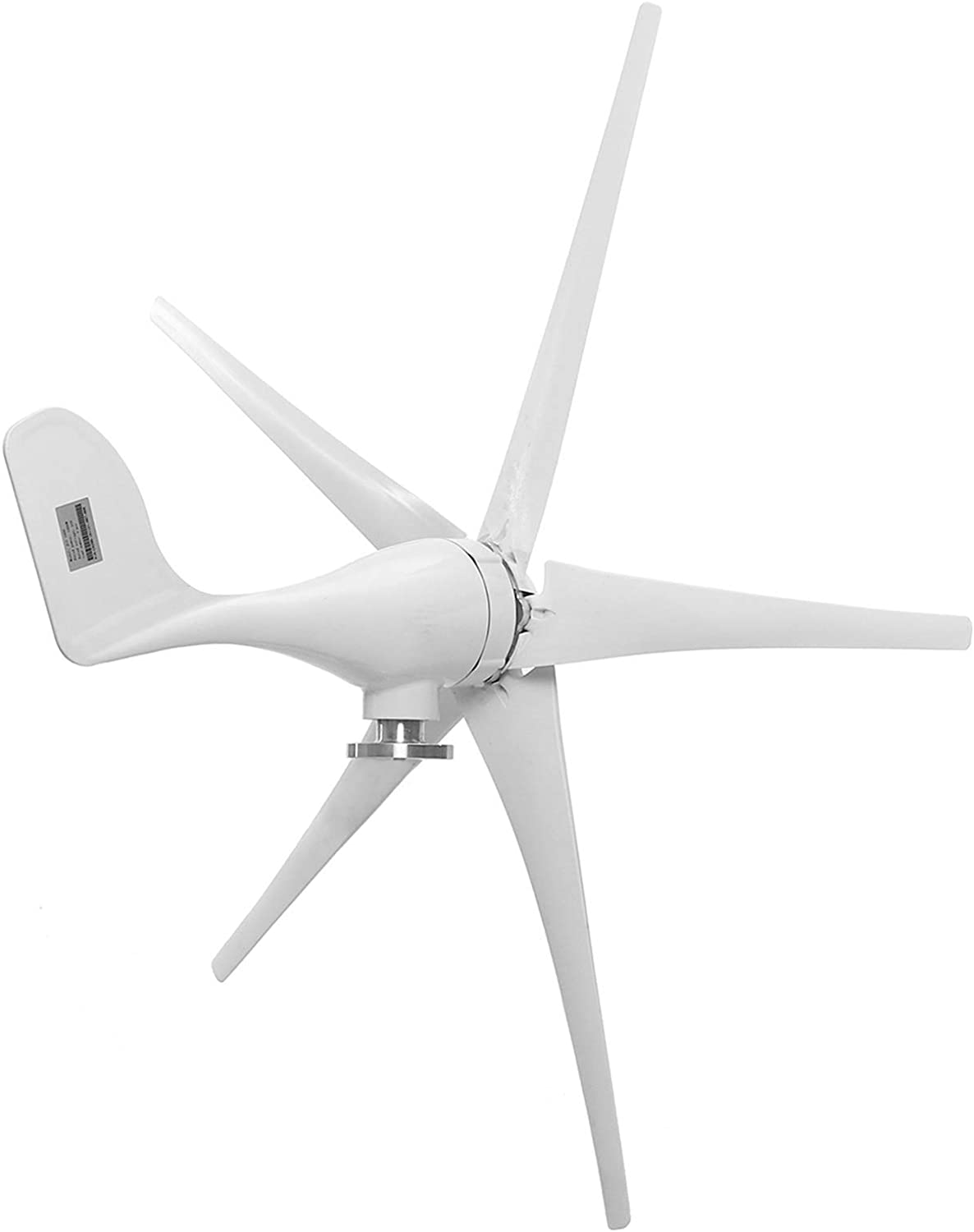 8000W Wind Power Turbines Generator, 5 Wind Blades Option with Waterproof Charge Controller Fit for Home Or Camping 12/24/48V,12v
