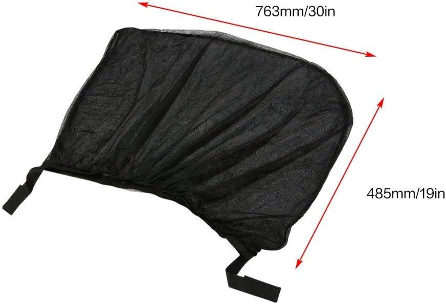 2pcs flexible auto fen/être lat/érale arri/ère pare-soleil maille rideau voiture protection UV maille couverture moustique manche de protection de la poussi/ère