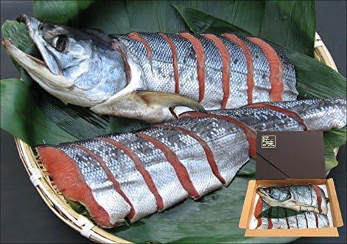 越後村上名産 塩引鮭 半身 (仕上り1.1kg前後)