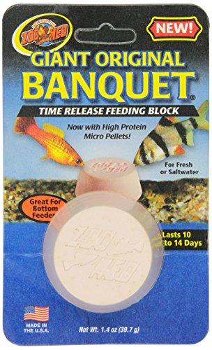 (Zoo Med Laboratories AZMBB3 Giant Banquet Block Feeder )