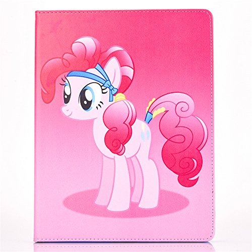iPad Mini 3 2 1 Case, Phenix-Color My Little Pony Premium Flip Stand PU Leather Shell Case for Apple iPad mini 3 2 1 (#02)