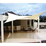 12' x 12' Sun Shade Sail UV Block Fabric Canopy in Square for Patio Garden Customized Sizes Available 3 Year Limited Warranty