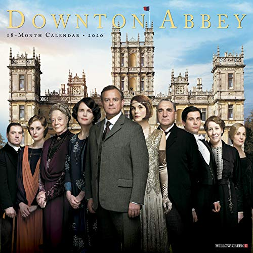 Price comparison product image Downton Abbey 2020 Wall Calendar
