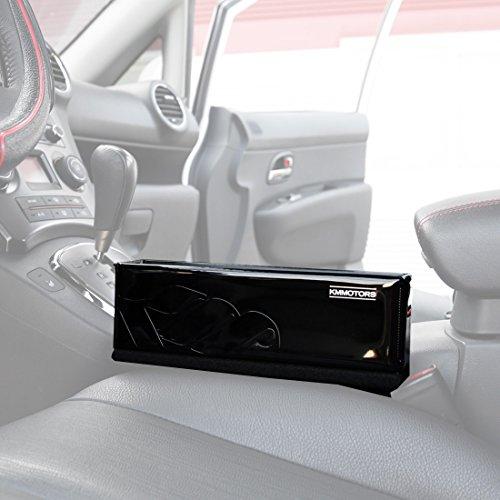 KMMOTORS All New Slim Side Pocket Black, Console Side Pocket, Car Organizer