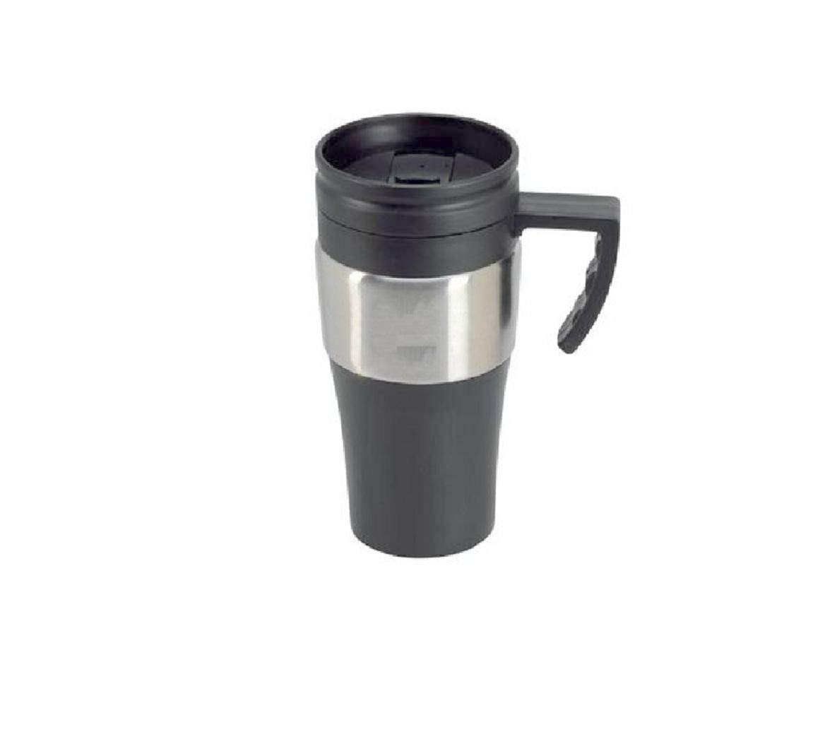 Abs Plastic /& Stainless Steel Auto Travel Mug 16oz Cup Fits All Car Holders Spill Proof Spout