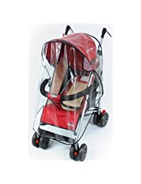 Tojwi Umbrella Stroller Clear Waterproof Rain Cover Wind Shield Fit Most Umbrella Strollers Pushchairs