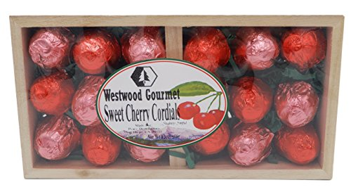 Westwood Gourmet Chocolate Cordials Gift Box (Sweet Cherry Cordials)